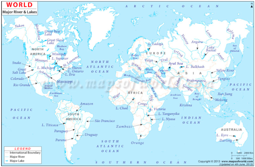 Geography Form 1 Topic 3:major Features Of The Earth's Surface